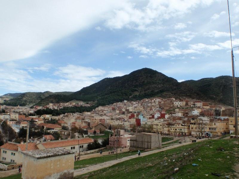 Vue panoramique d'Azrou