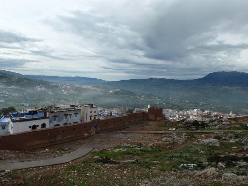 Vue panoramique de Chefchaouen