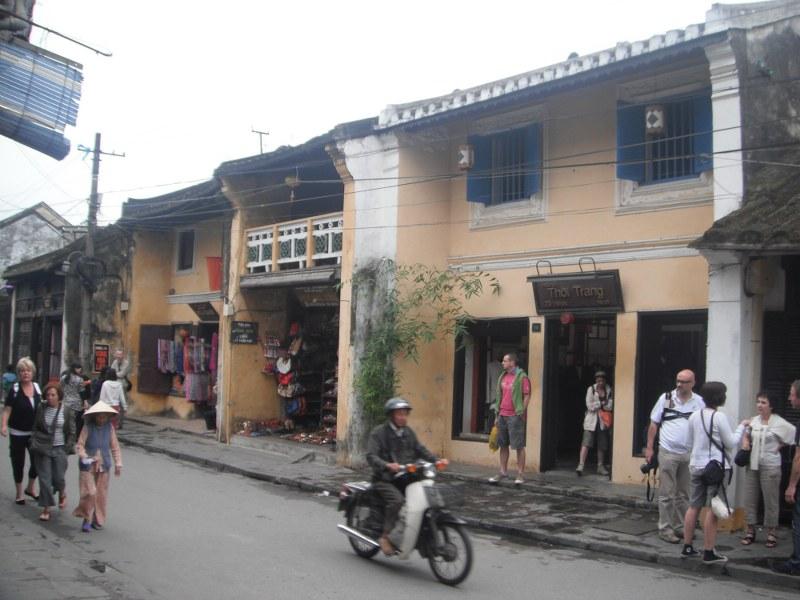 Maisons du vieux quartier d'Hoi An