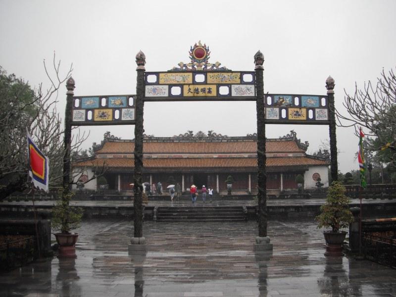 L'entree de la cité pourpre de Hue