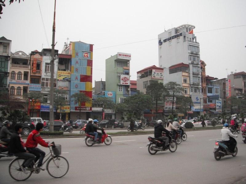Construction si particulière à Hanoi